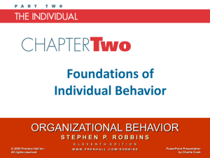 Organizational Behavior 11e - Stephen P. Robbins