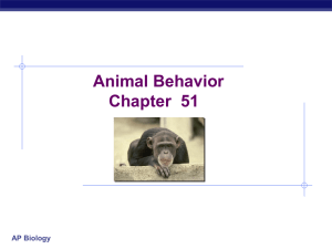 Ch 51 Animal Behavior student notes-wiki
