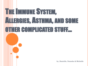 The Immune System - Watchung Hills Regional High School