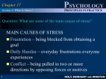 CHAPTER 17: STRESS AND HEALTH