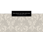 The Legacy of the New Deal PPt - pams-byrd