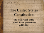 Outline of the Constitution and Preamble