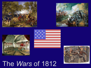 The Wars of 1812