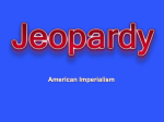 Jeopardy Review 1