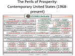 The Perils of Prosperity: Contemporary United States (1968