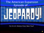 The American Revolution Episode of Jeopardy!