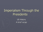 US Imperialism in the Early 1900s