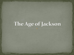 Manifest Destiny and the Age of Jackson