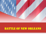 Battle of New Orleans PowerPoint