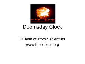 Doomsday Clock and Nuclear Age