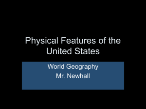 Unit II - Geography_of_the_United_States 8-24-14