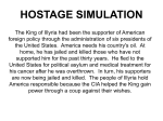 Iranian Hostage Simulation