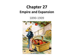 Chapter 20 America and the World