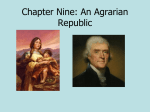 9b The Agrarian Republic