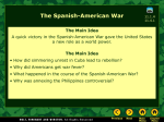 7_2 The Spanish American War with Pair Share