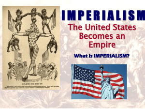 imperialism - Humble ISD
