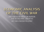 Econ Analysis of the CW