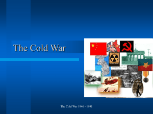 The Cold War (1945
