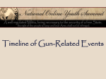 Activity 3: Timeline of Gun-Related Events