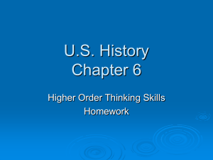 US History Chapter 6