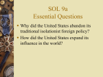 SOL 9a Essential Questions
