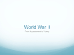 World War II - Reading Community Schools