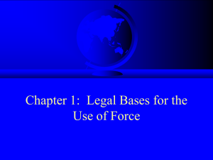 Civilian Protection Law in Military Operations