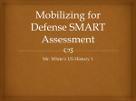 Mobilizing for Defense SMART Assessment