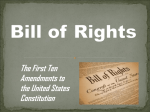 Bill of Rights - BussiereHistory