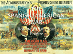 The Spanish/American War