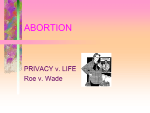 Abortion, Part 2