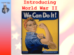 Introduction to World War II