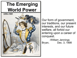 The Emerging World Power