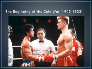 2. The Beginning of the Cold War (1945-1953