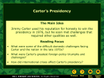 Carter`s Foreign Policy