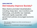 Industrialization Unit