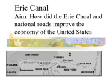 Erie Canal - Ms. Zizzo and Mr. Ardis` US History