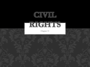 Civil Rights - Cherokee County Schools