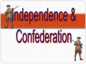 Articles of Confederation PPT