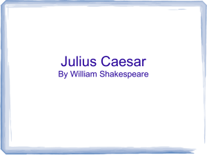 Click HERE for the Julius Caesar Intro PP