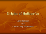 Origins of Hallowe`en