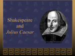 Shakespeare and Julius Caesar