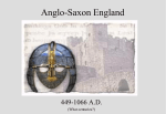 Anglo Saxon - TeacherWeb