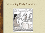 Introducing Early America - Bryn Mawr School Faculty Web Pages