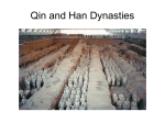 Qin and Han Dynasties