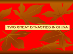the song dynasty restores china