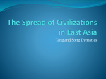 The Spread of Civilizations in East Asia