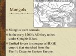 Mongols in China