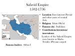 Safavid Empire 1502-1736