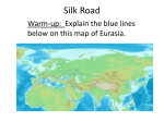 Silk Road - MrWall7thGradeSocialStudies